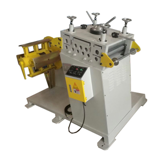 UL-300 Uncoiling Straightening Machine for 300mm Width Coil Sheet