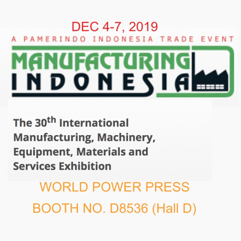 World Power Press December Exhibition in Indonesia